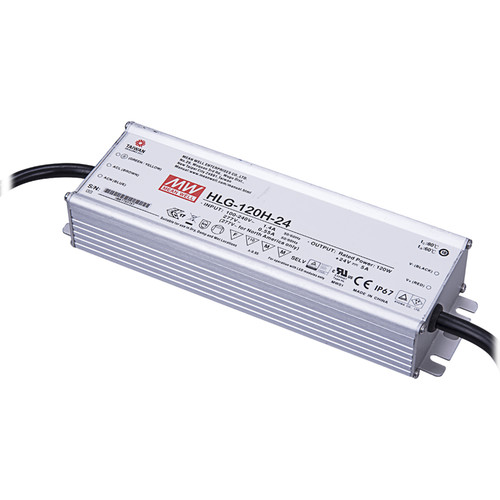 Vivotek HLG-120H-24 120W Single Output Switching Power Supply (24 VDC)