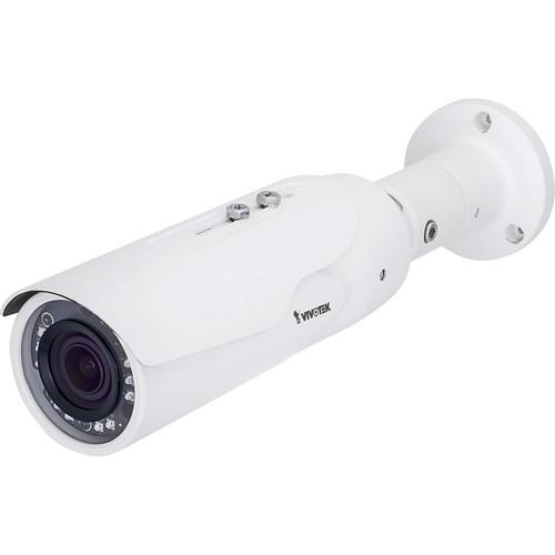 Vivotek V Series 4MP Outdoor Network Bullet Camera with Night Vision and 2.8-12mm Varifocal Lens