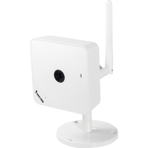 Vivotek IP8130W Mp Wireless Indoor Cube Network Camera with WPS Function