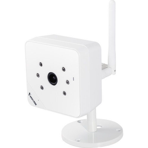 Vivotek IP8131W 1MP Day/Night Wireless Cube Network Camera (White)