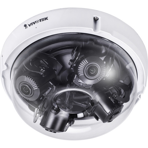 Vivotek S Series MA8391-ETV 12MP Outdoor 360° Multi-Sensor Network Dome Camera