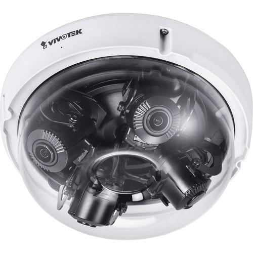 Vivotek S Series MA9321-EHTV 20MP Outdoor Multisensor Network Dome Camera with 3.7-7.7mm Lenses