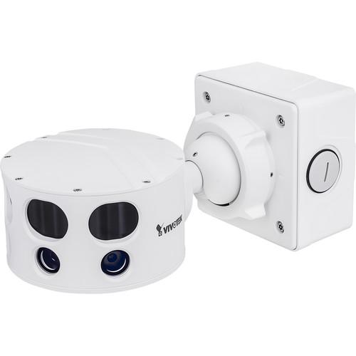 Vivotek S Series 12MP Outdoor Vandal-Resistant Multi-Sensor Panoramic Camera