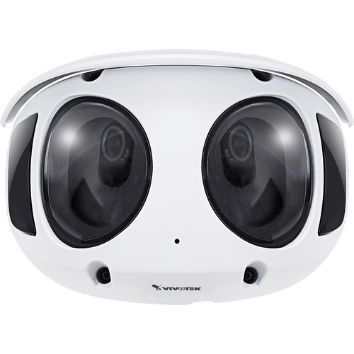 Vivotek MS9390-HV 8MP Outdoor 180° Panoramic Multi-Sensor Network Dome Camera with Night Vision