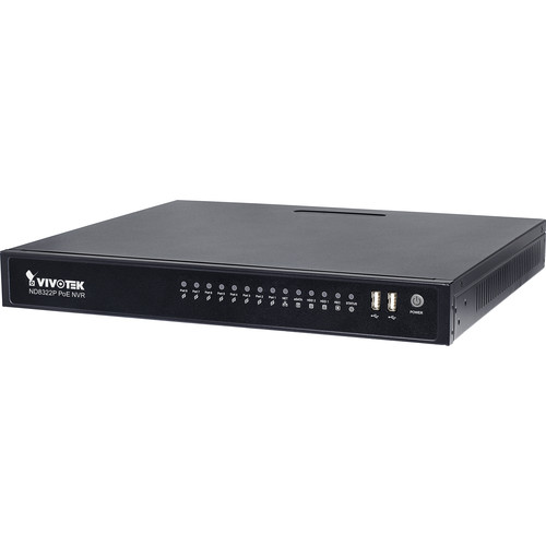 Vivotek 8-Channel 1080p NVR with 2TB HDD
