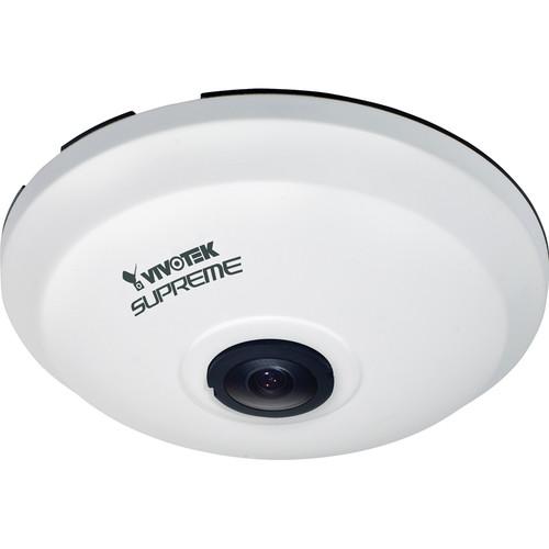 Vivotek SF8174 5MP Outdoor Day/Night Panoramic PTZ Network Camera with Fisheye Lens