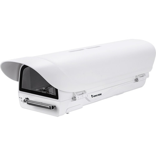 Vivotek Supreme Series Outdoor Enclosure with Built-In Wiper and Cold Start Heater for Select Cameras (24 VAC/VDC)