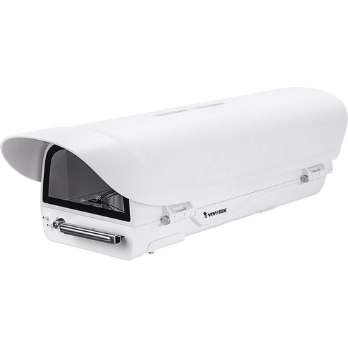Vivotek Supreme Series Outdoor Enclosure with Built-In Wiper for Select Cameras (PoE at 50-57 VDC)