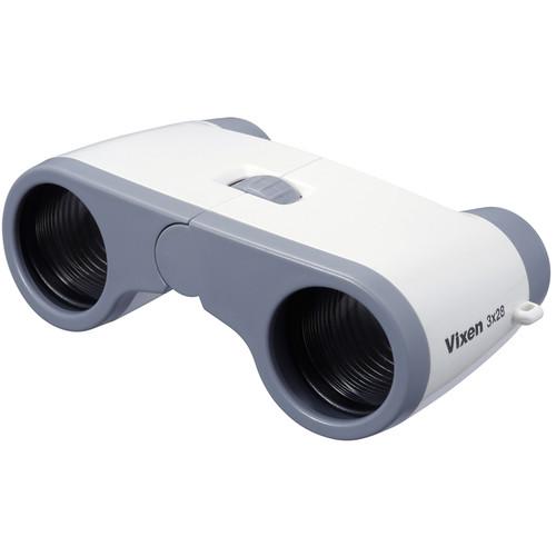 Vixen Optics 3x28 Opera Glasses (White)