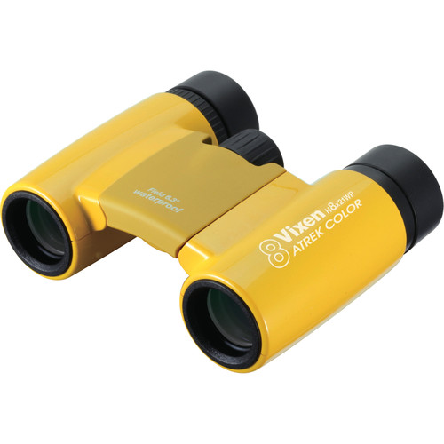 Vixen Optics 8x21 Arena Binocular (Yellow)