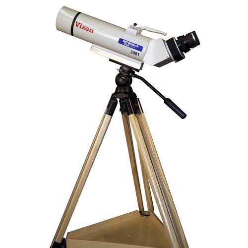 Vixen Optics BT-81S-A Astronomical Binocular and Berlebach Tripod