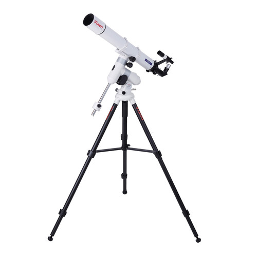 Vixen Optics A80Mf 80mm f/11.4 Achro Refractor Telescope with AP Mount and Tripod