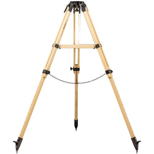 Vixen Optics Berlebach UNI 28 Ash Wood Tripod for Celestron EQ6 Mount