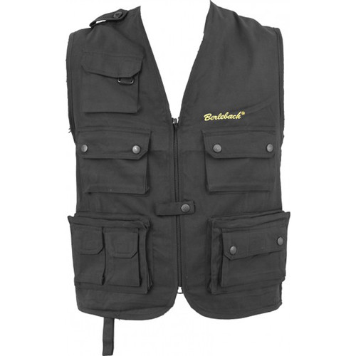Vixen Optics Berlebach Photographer's Vest (XL, Black)