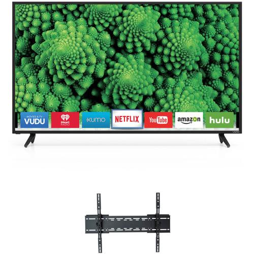 "VIZIO D-Series 50""-Class Full HD Smart LED TV and Tilting Wall Mount Kit"