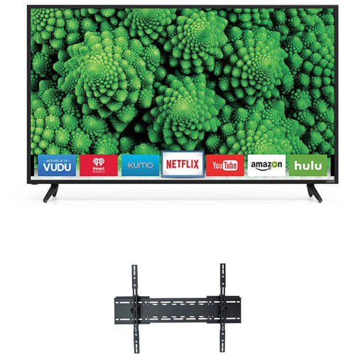 "VIZIO D-Series 50""-Class Full HD SmartCast LED TV and Tilting Wall Mount Kit"