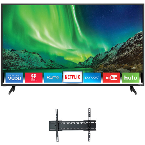 "VIZIO D-Series 50""-Class UHD Smart LED TV and Tilting Wall Mount Kit"