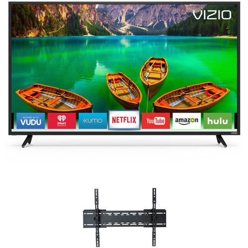 "VIZIO D-Series 55""-Class UHD Smart LED TV and Tilting Wall Mount Kit"