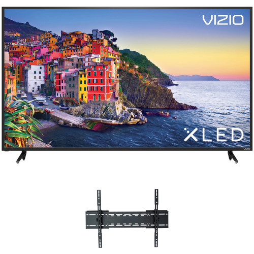 "VIZIO E-Series 60""-Class HDR UHD SmartCast XLED Home Theater Display and Tilting Wall Mount Kit"
