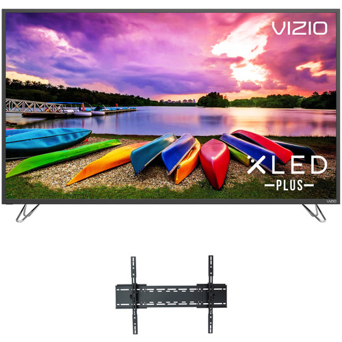 """VIZIO M-Series 55""""-Class HDR UHD SmartCast XLED Plus Home Theater Display and Tilting Wall Mount Kit"""