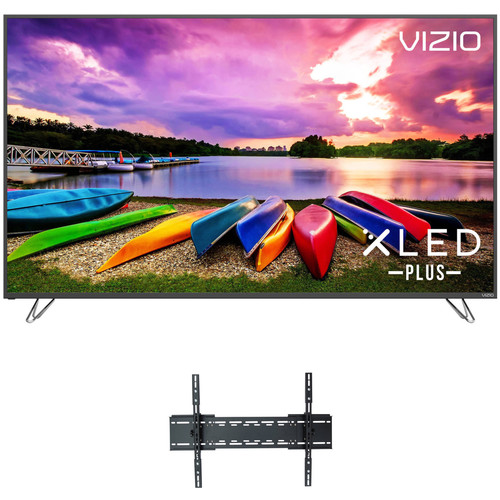 """VIZIO M-Series 75""""-Class HDR UHD SmartCast XLED Plus Home Theater Display and Tilting Wall Mount Kit"""