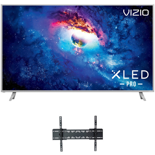 """VIZIO P-Series 55""""-Class HDR UHD SmartCast IPS XLED Pro Home Theater Display and Tilting Wall Mount Kit"""