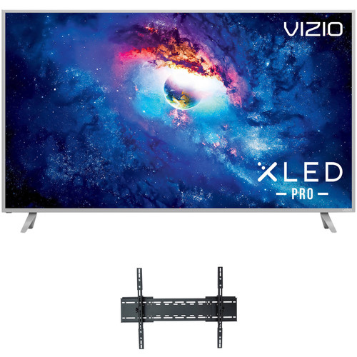 "VIZIO P-Series 65""-Class HDR UHD SmartCast XLED Pro Home Theater Display and Tilting Wall Mount Kit"