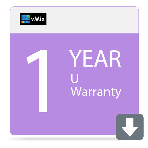 vMix 1-Year Extended Warranty for U Live