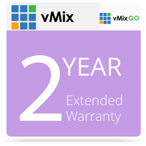 vMix 2-Year Extended Hardware Warranty for vMix GO