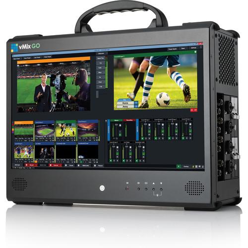 vMix GO Base Portable Live Production Solution