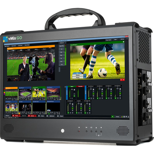 vMix GO 4 Portable System with Live Production Pro Software