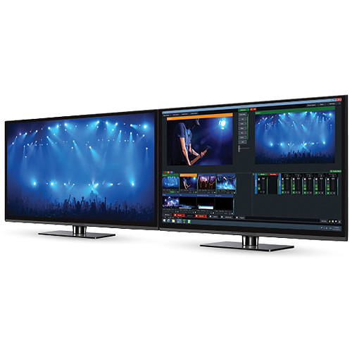 vMix 4K Live Production, Streaming, and Mixing Software (Download)