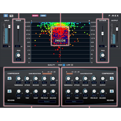 Internet Co. F-REX Audio Processor for Volume, Frequency, and Panning (Download)