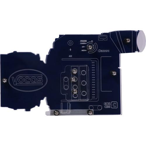 Vocas Dummy Display Model of Canon EOS C200 Camera
