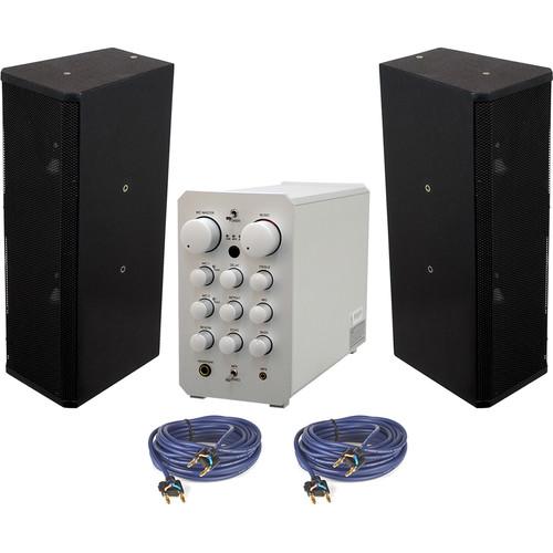 VocoPro CASAMAN-VOICE Professional Digital Karaoke Mixing Amplifier with CA-358 Vocal Speaker Package
