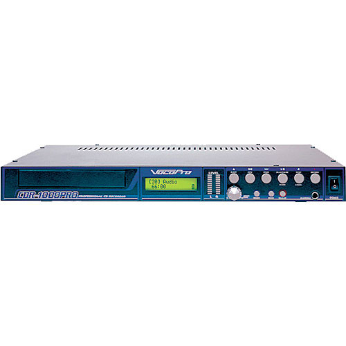 VocoPro CDR-1000 Pro - Single Rack-Space CD Player & Recorder