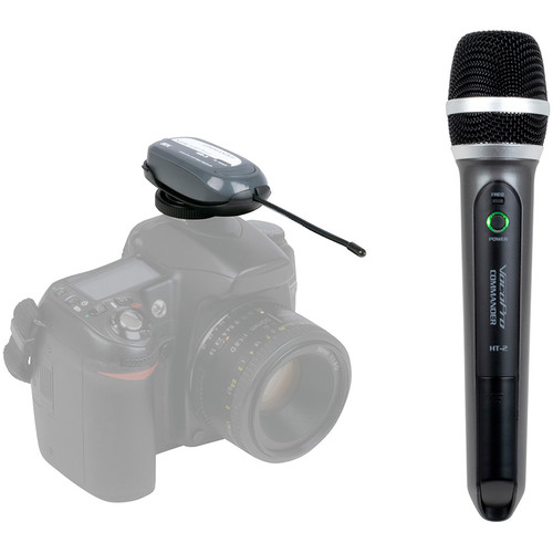 VocoPro Commander-FILM-HANDHELD Camera-Mount UHF Wireless Handheld Microphone System (Group 2: 915 to 921.5 MHz)
