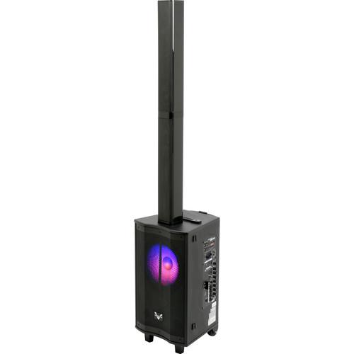 VocoPro Drifter Rechargeable Compact 3-Way 1500W Line Array Karaoke PA System