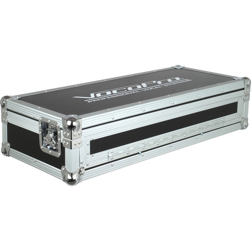 VocoPro Flight Case for KJ-6000 Mixer & 2 CDG-1020 PRO Players