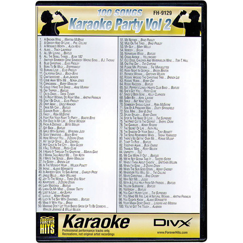 VocoPro FH-9129 Karaoke Party DIVX DVD Volume 2