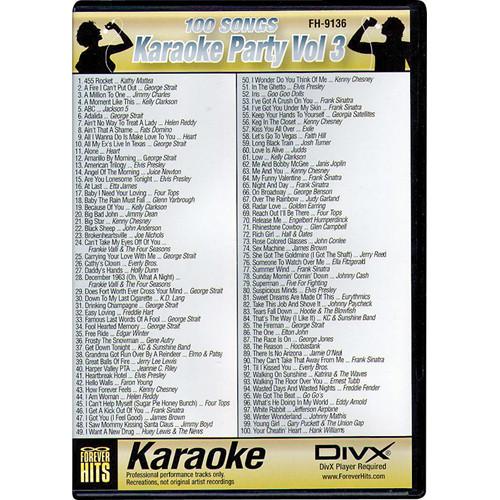 VocoPro FH-9136 Karaoke Party DIVX DVD Volume 3