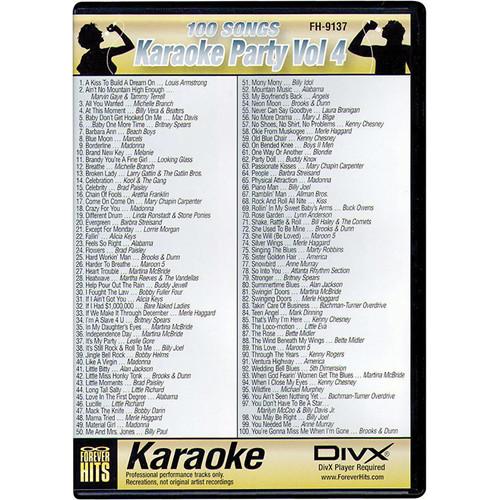VocoPro FH-9137 Karaoke Party DIVX DVD Volume 4