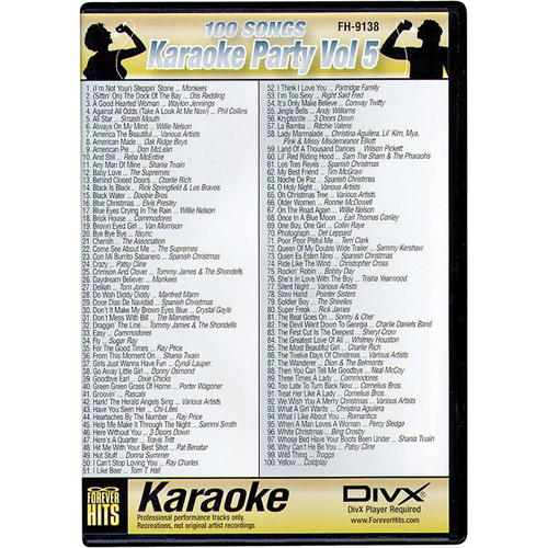 VocoPro FH-9138 Karaoke Party DIVX DVD Volume 5