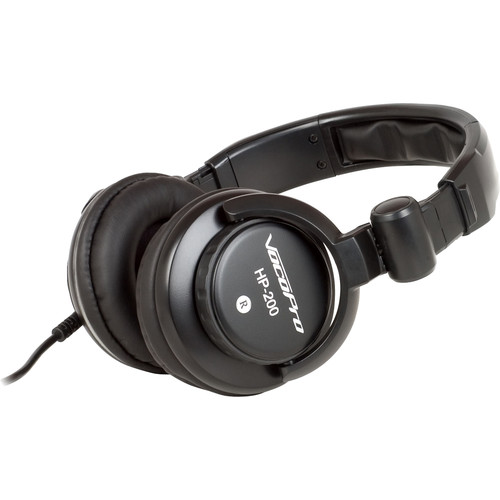 VocoPro HP-200 Professional Monitoring Headphones