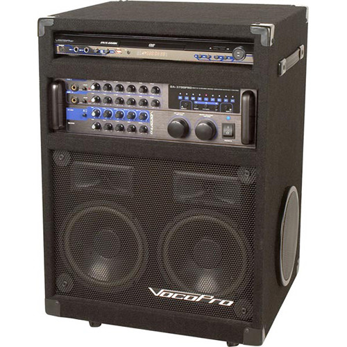 VocoPro IDOL II 200W Digital Key Control DVD/CD+G/CD/System