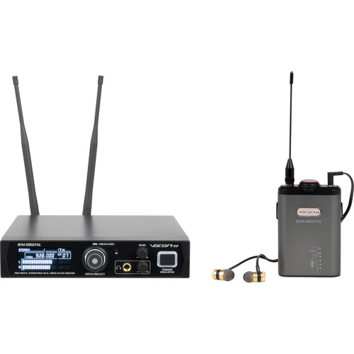 VocoPro IEM-Digital Wireless Stereo In-Ear Monitoring System (902 to 928 MHz)