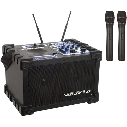 VocoPro JAMCUBE2 100W Stereo Mini PA System