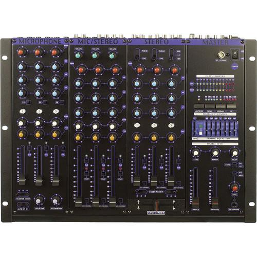 VocoPro KJM-8000 Pro Plus Professional DJ Mixer