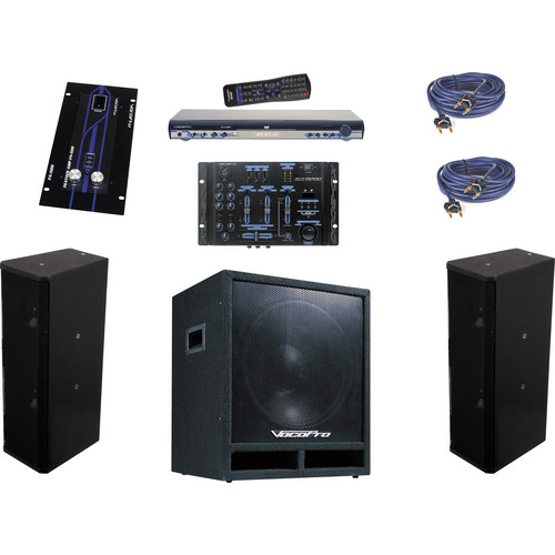 VocoPro LOUNGEMAN 500W Professional Venue System