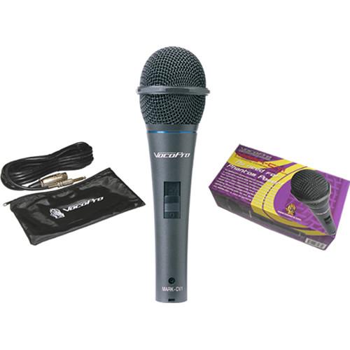 VocoPro MARK-CV1 Professional Battery-Powered Condenser Microphone